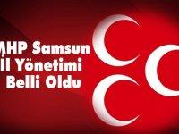 MHP Samsun İl Yönetimi Belli Oldu