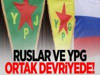 Ruslar Münbiç'te YPG İle Ortak Devriyede!