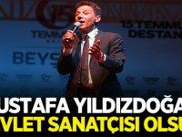 MHP'den Flaş Teklif: Mustafa Yıldızdoğan devlet sanatçısı olsun