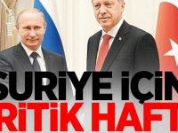 Suriye için kritik hafta