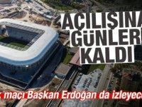 Etimesgut Eryaman Stadı'nın Açılışına günler kaldı
