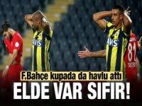Fenerbahçe Türkiye Kupasından da Elendi