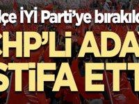 CHP'li belediye başkan adayı istifa etti