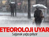 Meteoroloji uyardı! Sağanak yağmura dikkat