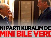 MHP'li vekil'den yeni parti önerisi! İsim bile verdi