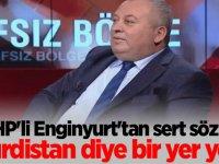 MHP'li Enginyurt'tan sert sözler: Kürdistan diye bir yer yok