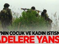 PKK'nın çocuk ve kadın istismarı ifadelere yansıdı