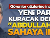 """Görenler inanamadı! """"Abdullah Gül sahaya indi"""""""