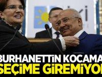 İYİ Parti'nin Mersin adayı Burhanettin Kocamaz seçime giremiyor
