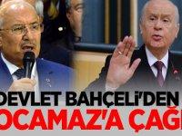 Devlet Bahçeli'den Burhanettin Kocamaz'a çağrı