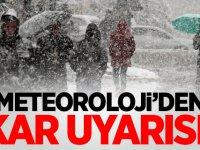Meteoroloji illeri tek tek saydı! Ve kar geliyor