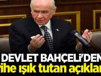 MHP lideri Bahçeli'den tarihe ışık tutan açıklama!