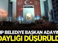 MHP Belediye Başkan Adayının Adaylığı Düşürüldü