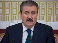 Mustafa Destici: Türkiye, ABD ile güvenli bölge oluşumuna gitmemeli