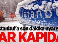 İstanbul'a son dakika uyarısı: Meteoroloji saat verip uyardı