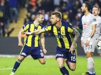 Gol düellosunda kazanan Fenerbahçe!
