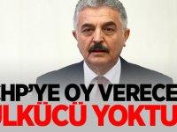 CHP'ye oy verecek ülkücü yoktur