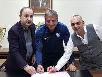 Erzurumspor'da Teknik Direktör Hamzaoğlu İle Sözleşme İmzalandı