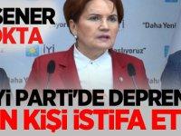 İYİ Parti'de Deprem bin kişi istifa etti