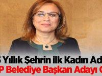 65 Yıllık Şehrin İlk Kadın Adayı MHP Belediye Başkan Adayı Oldu
