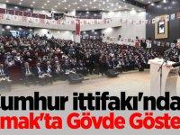 Cumhur İttifakı'ndan Mamak'ta Gövde Gösterisi