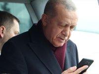 Cumhurbaşkanı Erdoğan  Görüntülü Görüştü
