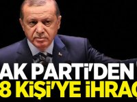 AK Parti'den 28 kişi'ye ihraç