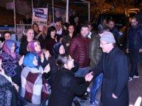 Karabük'te Başkan Rafet Vergili'ye vatandaşlardan yoğun ilgi