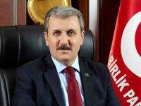 Mustafa Destici'den 'beka sorunu' açıklaması