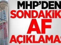 Son dakika mahkum ve hükümlülere af açıklaması! MHP'li Feti Yıldız konuştu