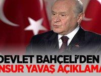 MHP lideri Bahçeli'den Mansur Yavaş Açıklaması