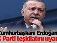 AK Parti teşkilatını uyardı...