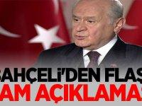 Devlet Bahçeli'den flaş 'idam' açıklaması