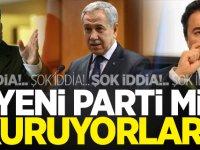 Bülent Arınç'tan dikkat çeken yeni parti açıklaması!