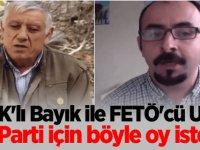 PKK'lı Bayık ile FETÖ'cü Uslu İYİ Parti için böyle oy istedi!