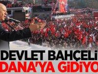 Devlet Bahçeli Adana'ya gidiyor