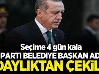 AK Parti Belediye başkan adayı seçime 4 gün kala adaylıktan çekildi