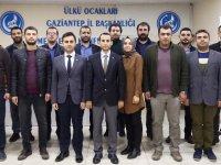 Gaziantep Ülkü Ocaklarının yeni yönetimi bellirlendi