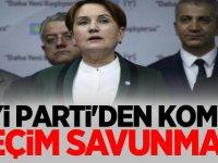 İYİ Parti'den güldüren yerel seçim savunması