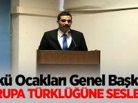 Ülkü Ocakları Genel Başkanı Sinan Ateş Avrupa Türklüğüne seslendi