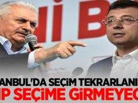 Bomba iddia: İstanbul'da Tekrar kararı çıkarsa CHP seçimlere girmeyecek