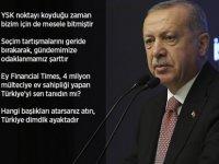 Erdoğan: Zulümlere Tribünden Seyirci Olmayız