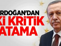 Erdoğan'dan iki kritik atama