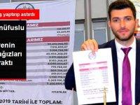 MHP'li Belediye Başkanı Ertuğrul Karagöl, Devraldığı Borç Durumunu Gösteren Afişi Belediye Binasına Astırdı