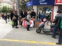 MHP İl Teşkilatı Kandil Simidi Dağıttı