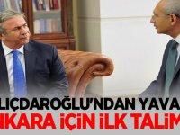 Kılıçdaroğlu'ndan Yavaş'a Ankara için ilk talimat