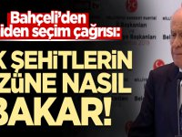 MHP Lideri Devlet Bahçeli'den YSK'ya 'yeniden seçim' çağrısı