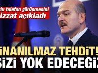 CHP Genel Başkanvekili Sülayman Soylu'yu tehdit etti