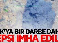 PKK'ya bir darbe daha: Hepsi İmha edildi