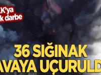 PKK'ya büyük darbe! Havaya uçuruldu!